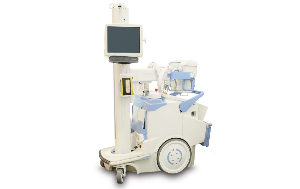 Mobile X-Ray Cart