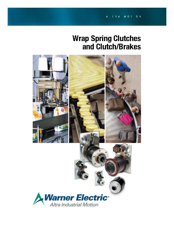 Wrap Spring Clutches & Clutch/Brakes